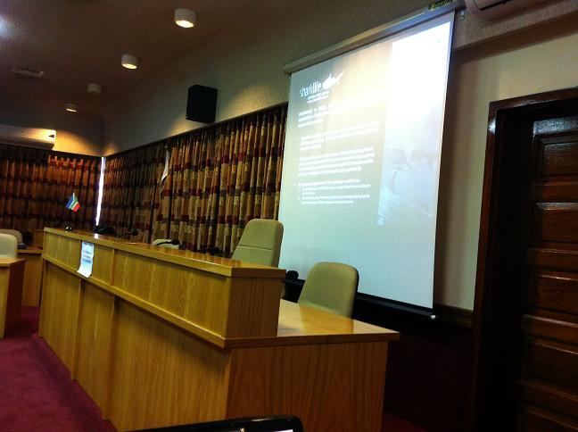 Umdoni Council Talk